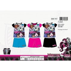 Pyjama court Monster High 830-747
