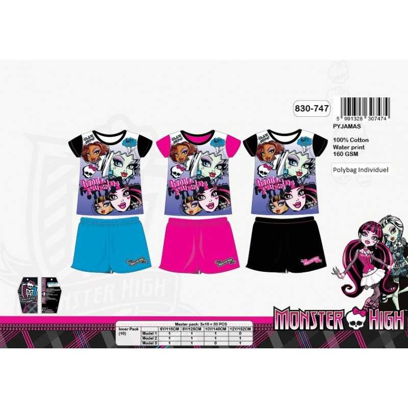 Pijama corto Monster High 830-747
