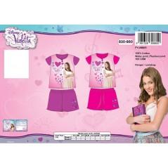 Violetta kurzer Schlafanzug