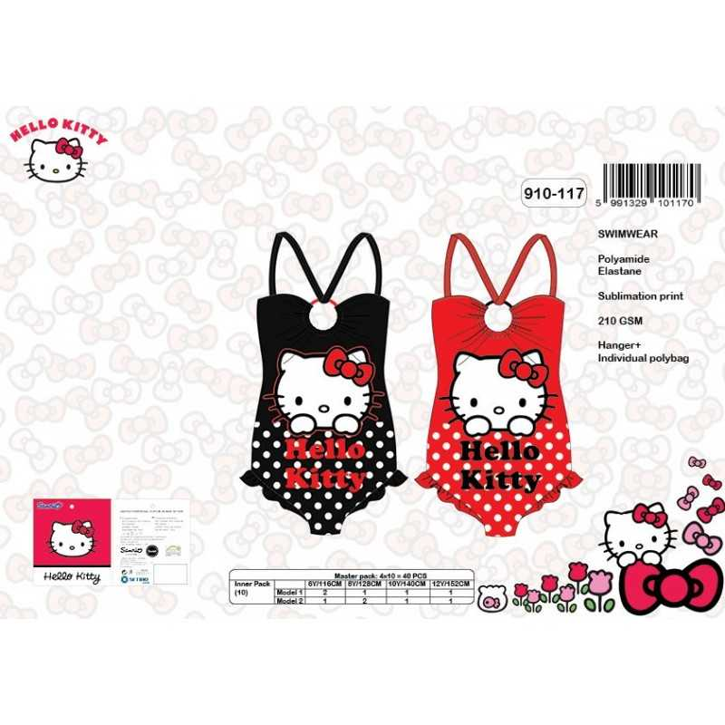 Traje de baño Hello Kitty - 910-117