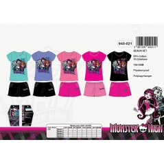 The whole t-shirt + shorts beach Monster High -940-021