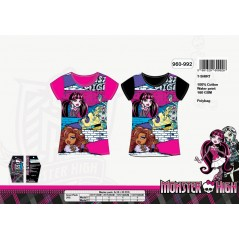 Camiseta Monster Monster High - 960-992