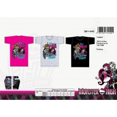 Big Tee-shirt Monster Monster High - 961-040