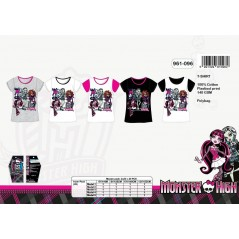 Camiseta Monster High - 960-096