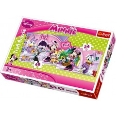 Puzzle 2 en 1 Minnie disney