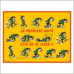 placemat gaston lagaffe