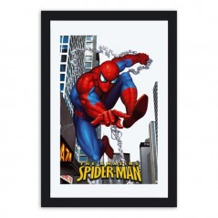 Miroir décoratif spiderman