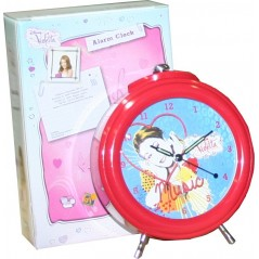 Disney Violetta metal alarm clock