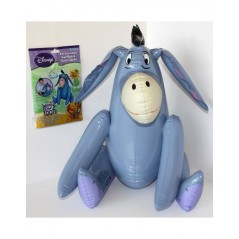 Personnage gonflable Bourriquet de winnie Disney 45 cm