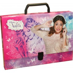 Porte- Documents Violetta Disney