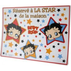 set de table betty boop