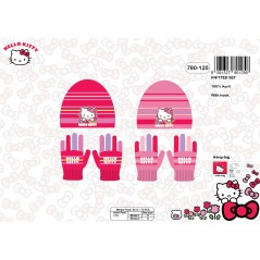 Hello Kitty Hat and Gloves Set -780-125
