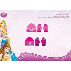 Set Beanie and Gloves Princess 780-088
