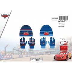 Set Beanie and Gloves Cars-780-081
