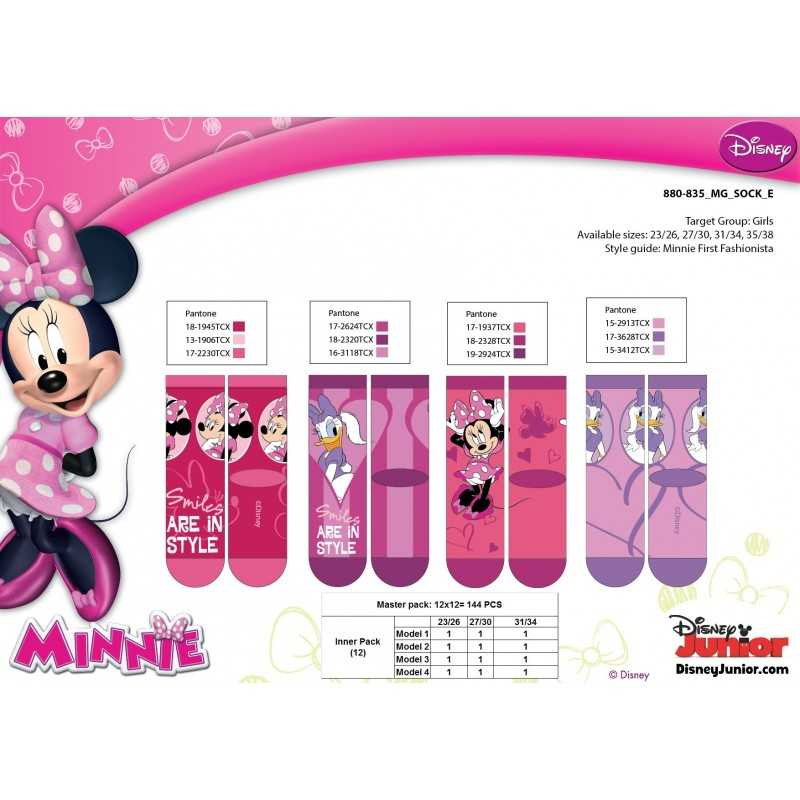 Calcetines para niños Minnie Disney