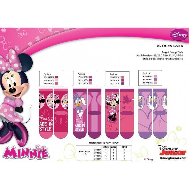 Paire de chaussettes Minnie Disney Enfant