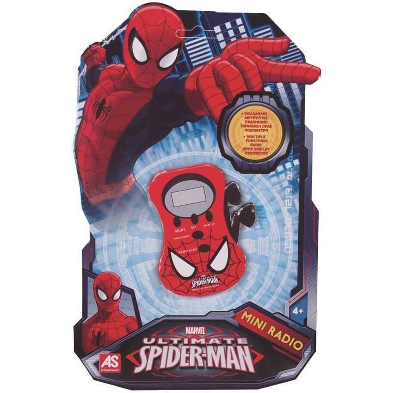 Radio ze słuchawkami Spiderman