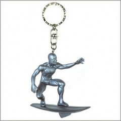 porte clé figurine le surfeur d'argent