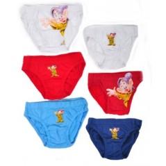 Box of 3 Panties 7 dwarfs Disney - 730-116