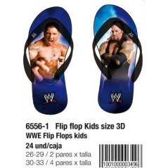 WWE beach sandals