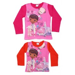 T-shirt Doc Mc Stuffins Disney manches longues -961-158