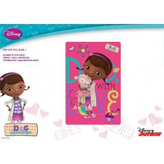 Plaid polar Doc Mc Stuffins Disney - 720-053