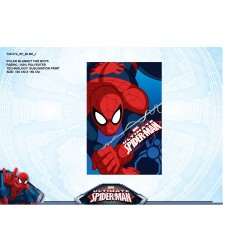 Plaid polaire Spiderman - 120 X140 cm - 720-074