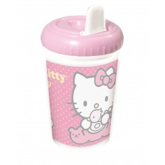 Hello Kitty Baby Cup 380ml With Spout Nozzle