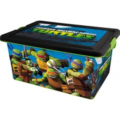 Storage box 23L Ninja Turtles