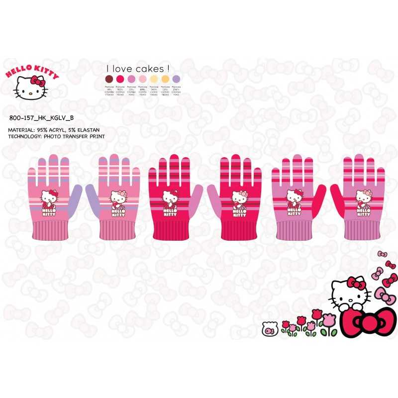 Guantes Hello Kitty - 800-157
