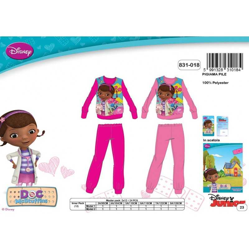 Doc McStuffins Polar Pajama Set