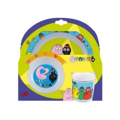 Set Dishes 3-piece Barbapapa