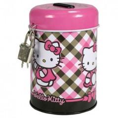 PIGGY bank METAL PADLOCK hello kitty
