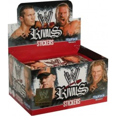 Paquets de 6 Stickers WWE Rivals