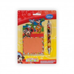 Kit de notes avec stylo Mickey Mouse