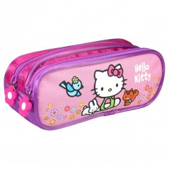 Hello Kitty Kit mit 2 Fächern