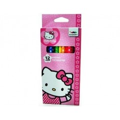 Box of 12 Color pencils Hello Kitty