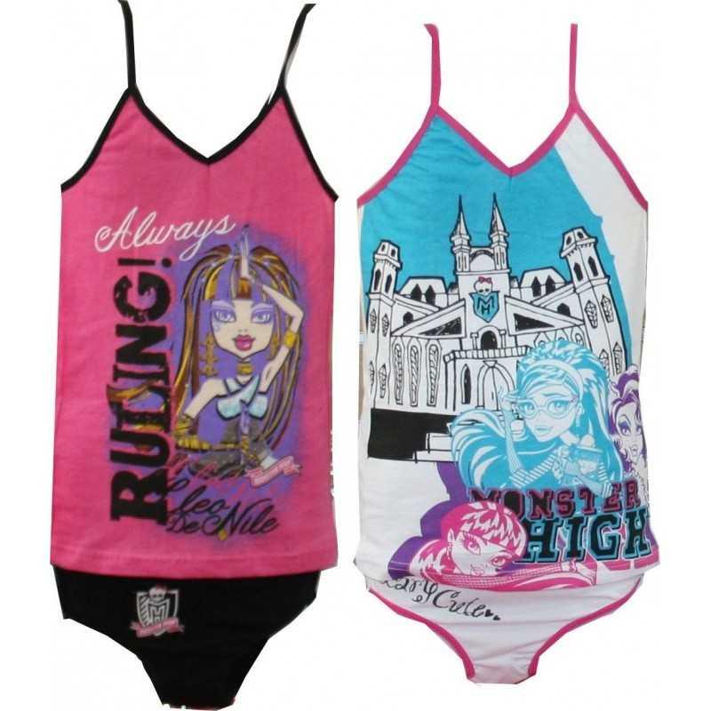 Monster High Tank Top + Panties