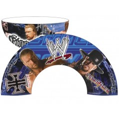 Triple H / Undertaker WWE porcelain bowl