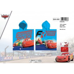 Poncho z kapturem Disney Cars