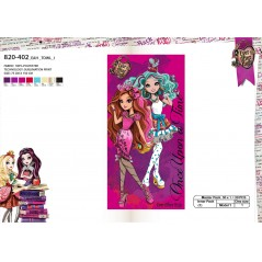Drap de plage ou drap de bain Ever After High 820-402