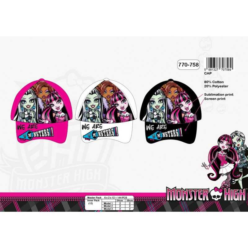 Casquette Monster High -770-758
