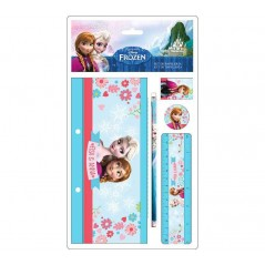 Stationery Set Frozen Disney 5 pieces - the snow queen