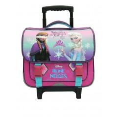 Cartable trolley La reine des neiges Disney - Frozen