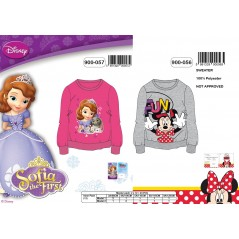 Sweat Sofia 900-057 et sweat Minnie 900-056