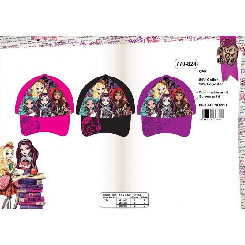 Ever after High Cap 770-824