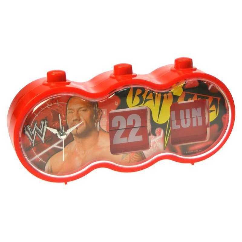 Réveil calendrier Batista WWE