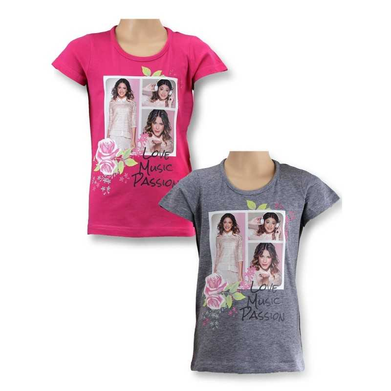 Violetta Disney Kurzarm T-Shirt 961-293