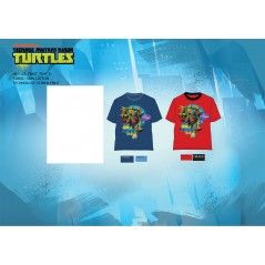 T-Shirt manches courtes Tortues Ninja 961-282