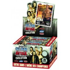 Booster packs 6 cards wwe Slam Attax